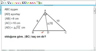 Açıortay Ve Açıortay Teoremleri 8 - EBA BİLİŞİM ORHAN BEY izle