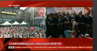Hopa Anadolu İmam-Hatip Ortaokulu ve Lisesi, Cumhurbaşkanı Erdoğan'ın Video Konfera... izle