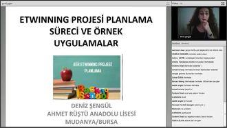 eTwinning Projelerini planlama süreci ve örnek uygulamalar, izle