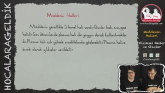 Maddenin Halleri ve Gazlar izle