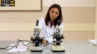 Işık mikroskobunun tanıtılması izle