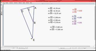 üçgenlerde benzerlik izle
