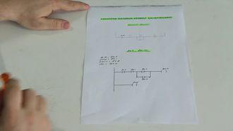 Plc İle Asenkron Motorun Sürekli Çalıştırılması izle