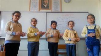 işaret dili ile Çanakkale Türküsü izle