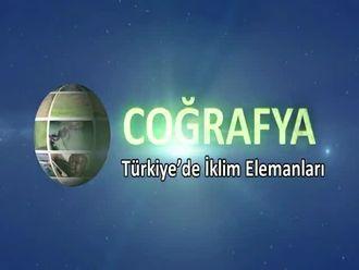 Türkiye'de İklim Elemanları izle