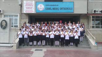 Karabağlar Cemil Meriç Ortaokulu Blok Flüt Grubu 3 izle