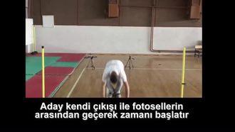 Kayseri Spor Lisesi Yetenek Sınavı Videosu izle