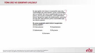 İslami Dönem Türk Edebiyatında Öğretici Metinler (2017 LYS- TÜRK DİLİ VE EDEBİYA... izle