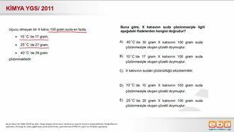 2011 YGS- Çözünürlük Hesaplamaları izle