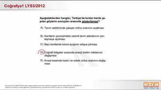 Türkiye'nin Nüfus Özellikleri ve Nüfus Hareketleri izle