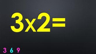 Ritmik Sayılar ve Çarpım Tablosu - 3 ile Çarpma izle