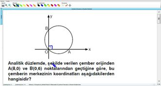 Çemberin Elemanları ve Standart Denklemi 6 izle