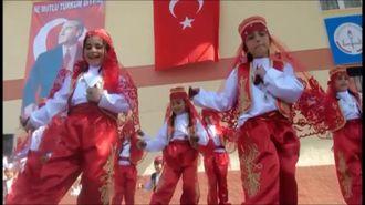 """""""ERİK DALI"""" HALKOYUNU GÖSTERİSİ izle"""