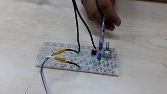 Triyak ve LDR li ışık kontrol devresi izle
