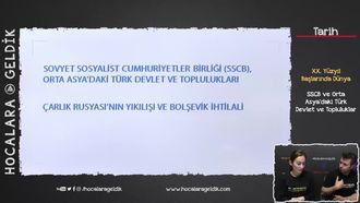 SSCB ve Orta Asya'daki Türk Devlet ve Topluluklar izle