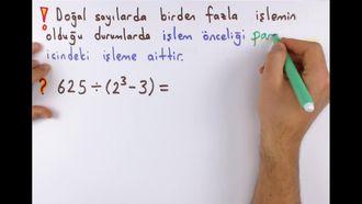 5. Sınıf Matematik Parantezli İşlemler izle
