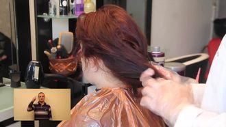 Saç Uçlarının Açılması izle