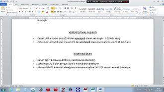 Bilgisayarlı Muhasebe (Zirve programı) -2 izle