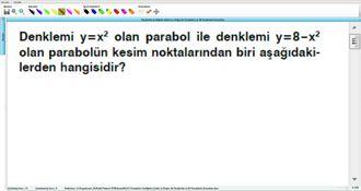 Parabolün Grafiğinin Çizimi Ve Doğru İle Parabolün Ve İki Parabolün Durumları 19 ... izle
