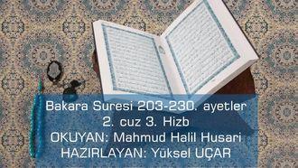 Bakara Suresi 203-230 izle
