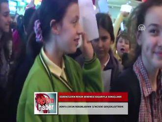 Öğrencilerin Rekor Denemesi Başarıyla Sonuçlandı (25.11.2012) izle