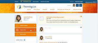 eTwinning'de bir projeye katılma izle