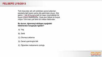2013 LYS Olumsuz Aktarma izle