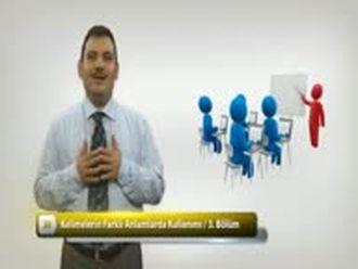 Kelimelerin Farklı Anlamlarda Kullanımı - 3 izle