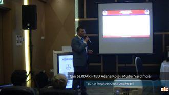 FATİH ETZ 2016 : Can SERDAR – TED Adana Koleji Müdür Yardımcısı-  TED 4.0: İnovas... izle