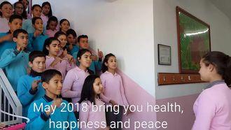 Kırcağız eTwinning Yeni Yıl Mesajı izle