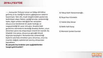 Cumhuriyet Dönemi Yazarları-Reşat Nuri Güntekin izle