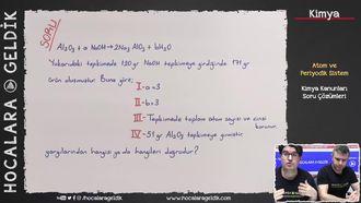 Kimya Kanunları Soru Çözümleri izle