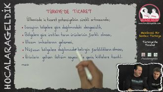 Türkiye'de Ticaret izle