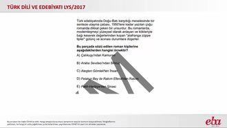 Batı Etkisinde Gelişen Türk Edebiyatı (2017 LYS- TÜRK DİLİ VE EDEBİYATI) izle