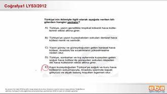 Türkiye'nin yer şekilleri,iklimi,toprak,su ve bitki varlığı izle