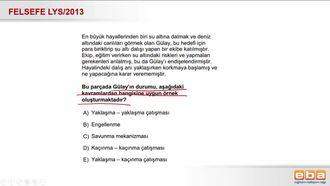 2013 LYS ÇATIŞMA TÜRLERİ izle