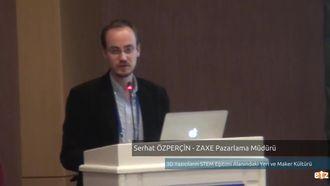 FATİH ETZ 2016: Serhat ÖZPERÇİN - ZAXE Pazarlama Müdürü, 3D Yazıcıların STEM Eğ... izle