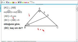 Açıortay ve Açıortay Teoremleri 20 izle