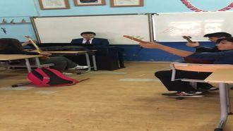 Bağlama öğrencilerim ve ben piyano eşlik izle