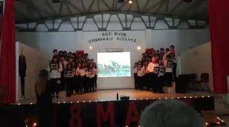 18 Mart Çanakkale Zafeti Şehitleri Anma Programı izle