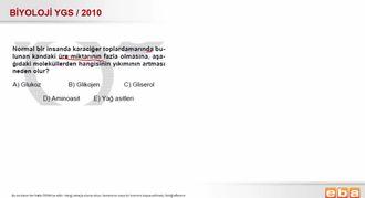 2010 YGS Biyoloji Organik Bileşikler izle