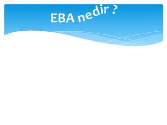 EBA Nedir? Nasıl Faydalanırım? izle