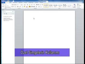 Metreküp, Metrekare Gibi Özel Simgeler Nasıl Yazılır? (Özel Simge Kullanımı) izle
