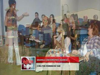 Anadolu Üniversitesi Dünyanın Üçüncü Mega Üniversitesi (01.11.2012) izle