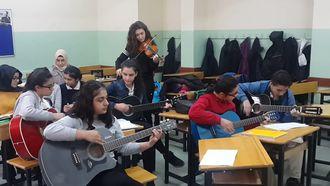Gaziantep Vehbi Dinçerler Fen Lisesi Müzik Dersi izle