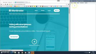 Mentimeter - Eş zamanlı Online Anket Sınav yada Oylama Yapma Programı izle