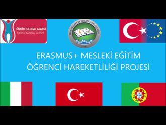 Erasmus+ staj projemizin tanıtım videosu izle