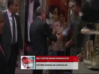 Milli Eğitim Bakanı Kırıkkale'de (02.10.2012) izle