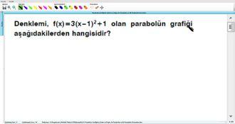 Parabolün Grafiğinin Çizimi Ve Doğru İle Parabolün Ve İki Parabolün Durumları 9 -... izle