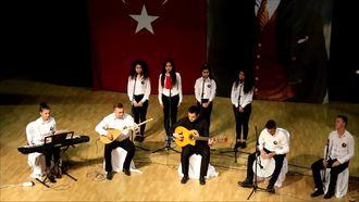 2016-2017 Kırklareli Fen Lisesi 10 Kasım Programı - Türkü - Çalın Davulları izle